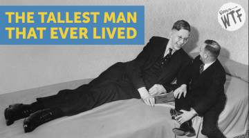 robert wadlow world's tallest man