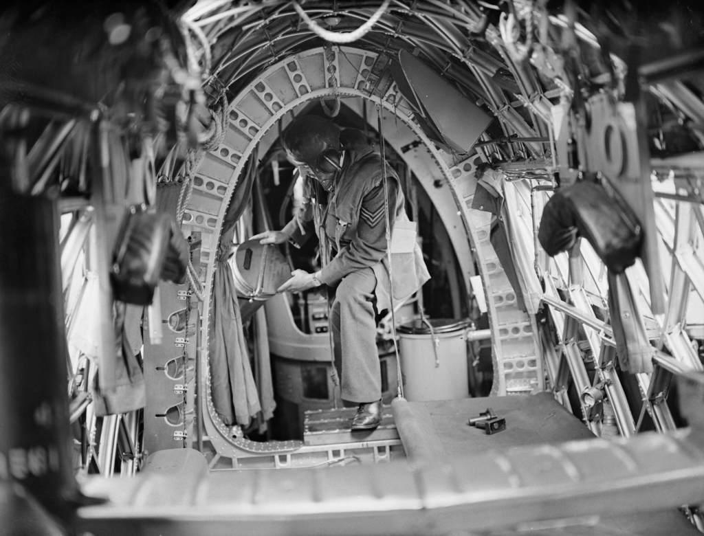 RAF chemical lavatory