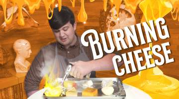 burning cheese most flammable cheese