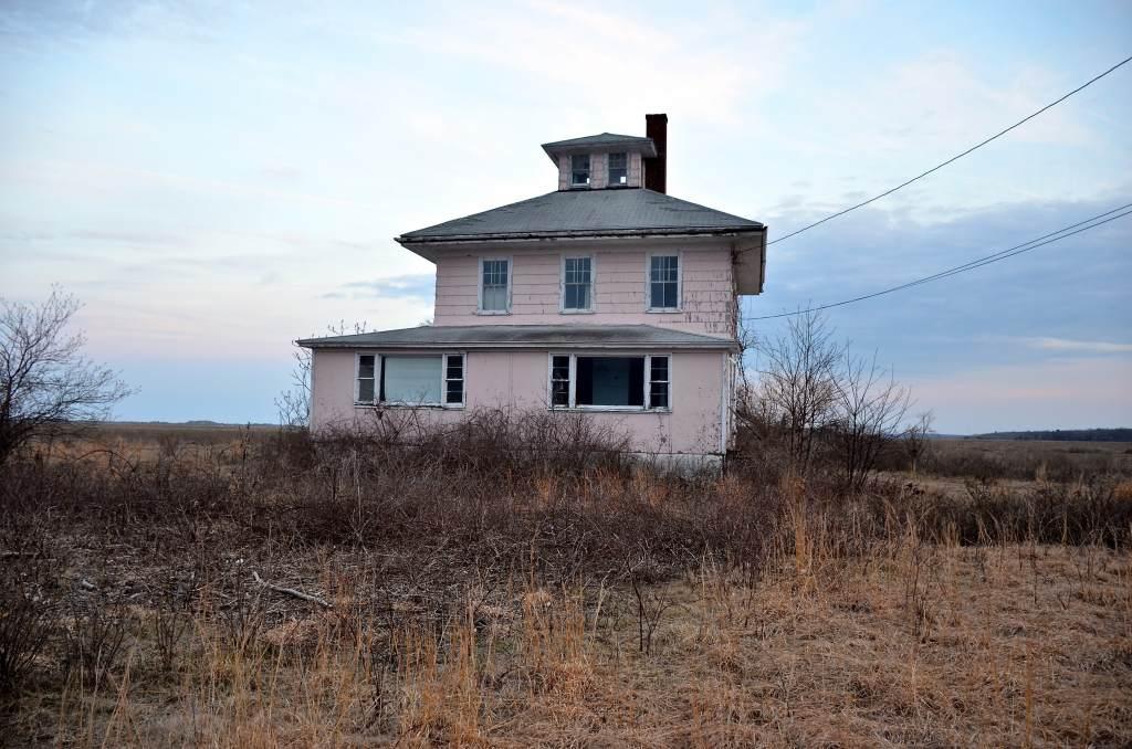 Plum Island Pink Spite House
