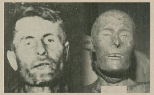 Elmer McCurdy corpse