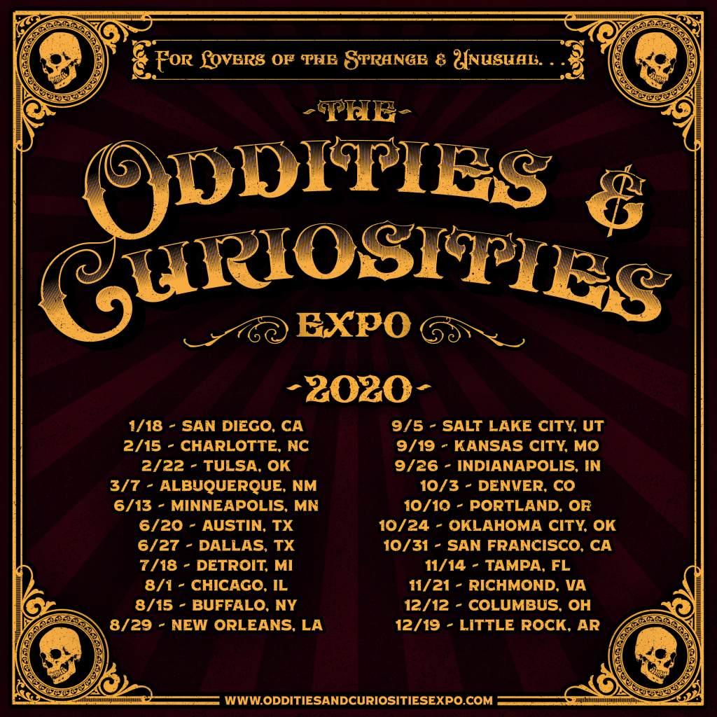 updated expo schedule