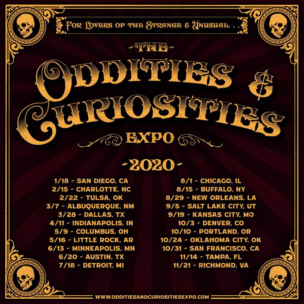 oddities expo schedule
