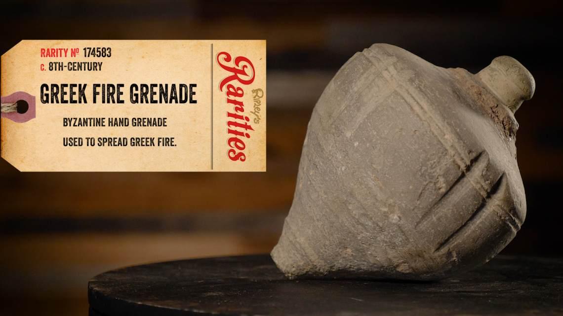 greek fire grenade