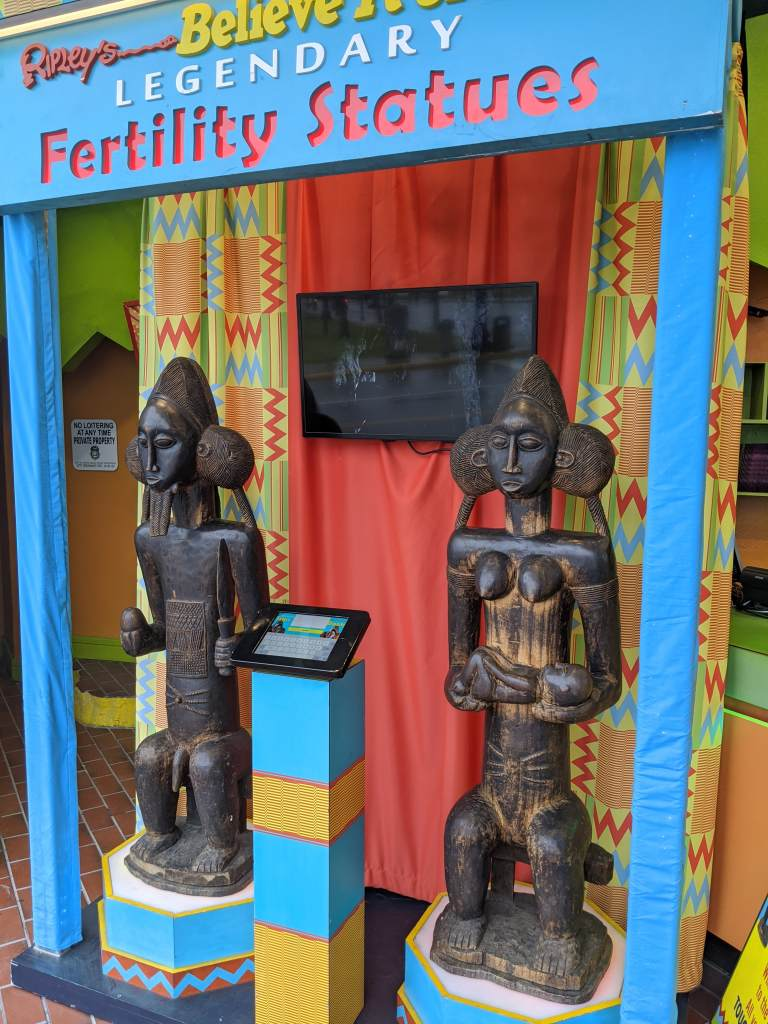 african fertility statues