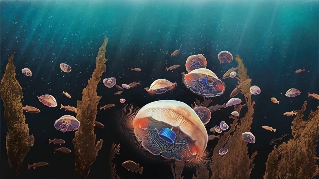 Bionic jellyfish