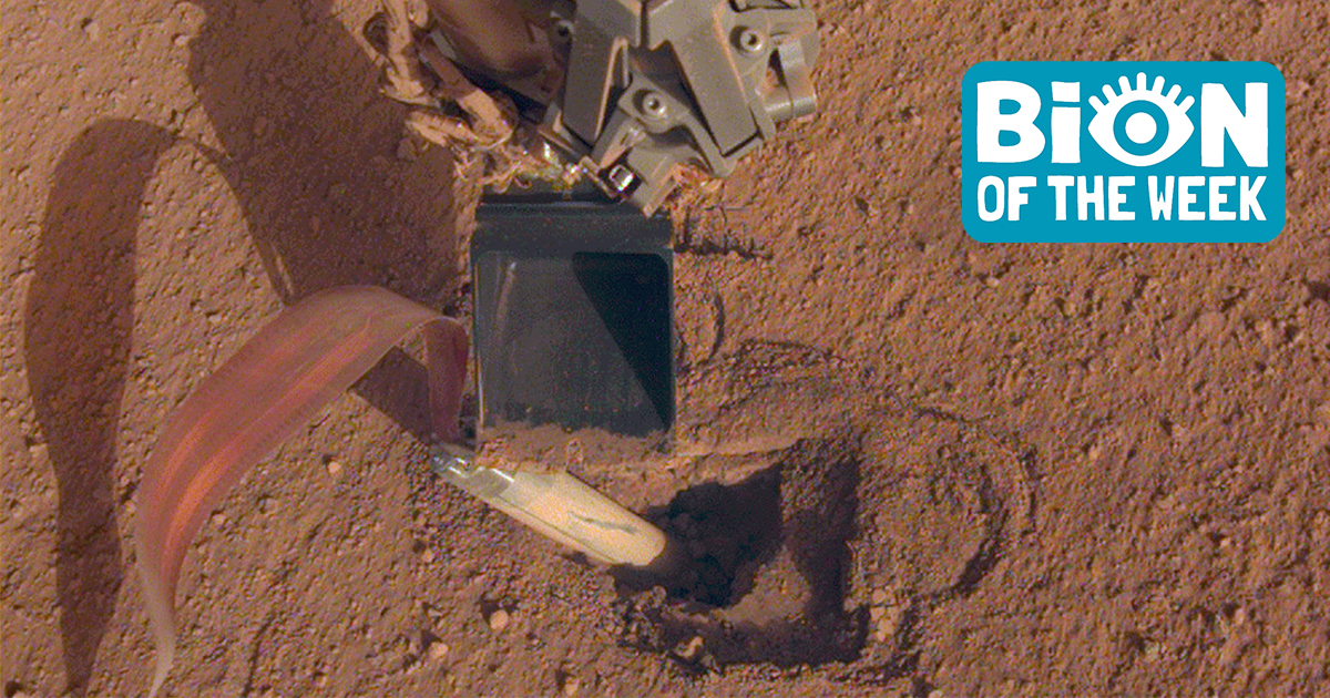 NASA Fixes Probe On Mars By Whacking It With Shovel - paNOW