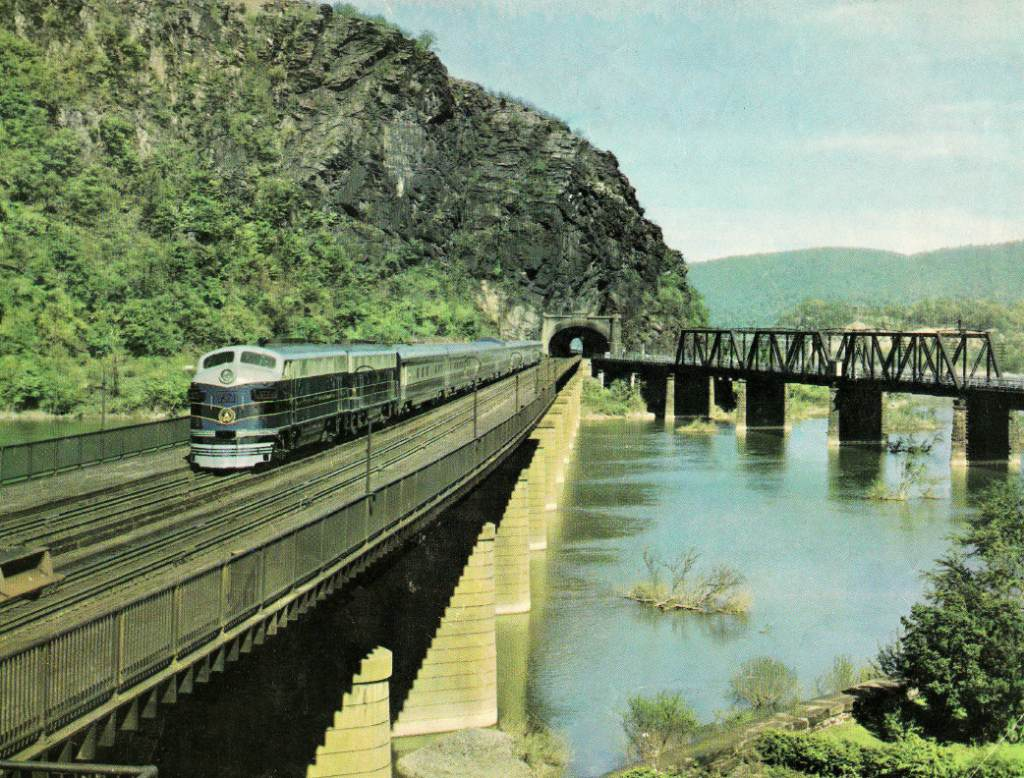 Baltimore & Ohio Railroad Train