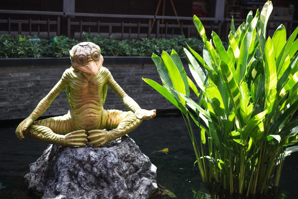 japanese kappa statue
