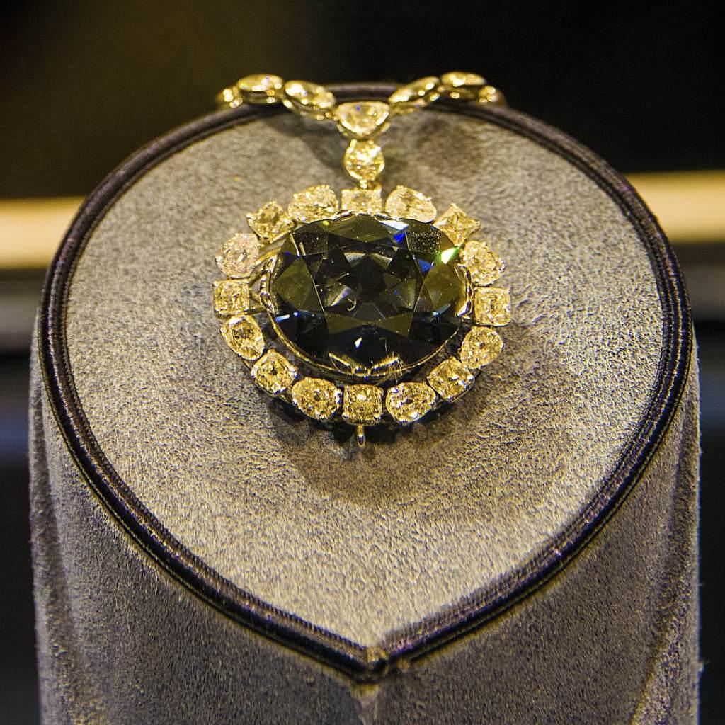 hope diamond closeup