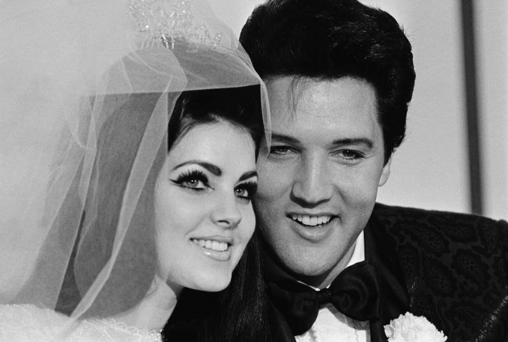 Elvis & Priscilla Presley Wedding Photo