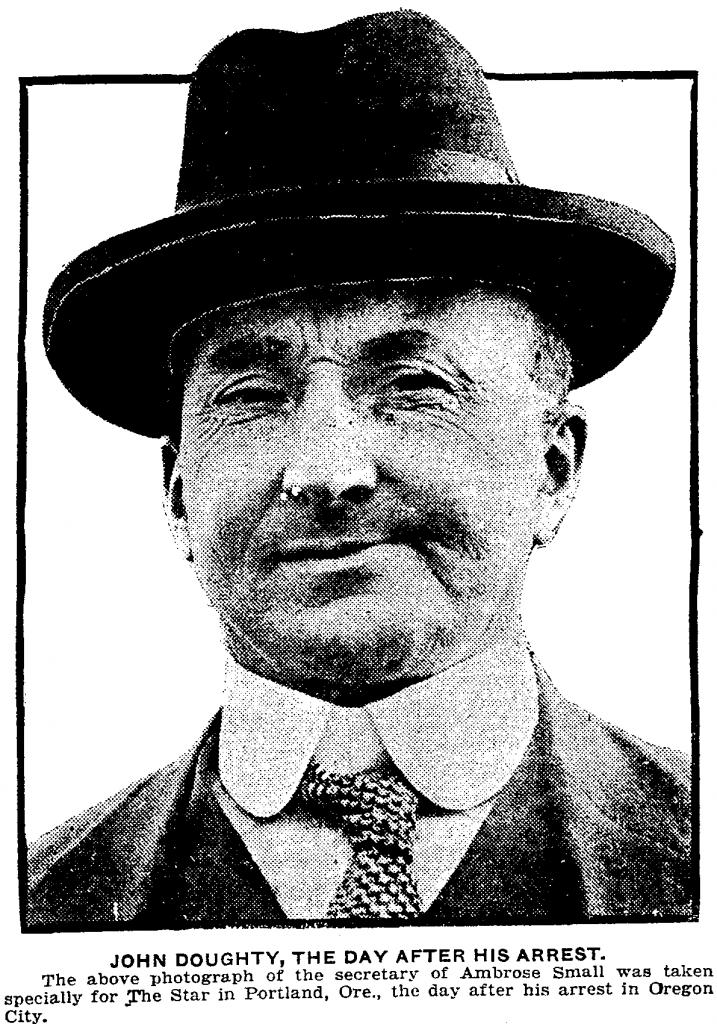 John Doughty, Small's secretary