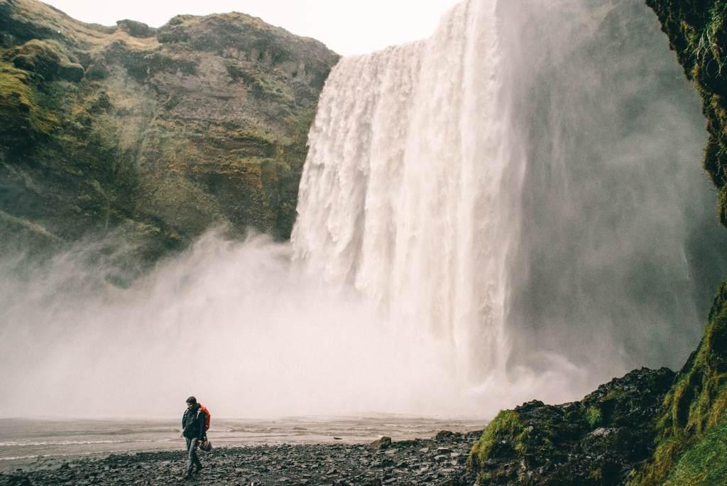 Skogafass Falls Iceland