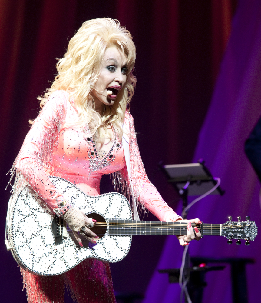 Dolly Parton singing