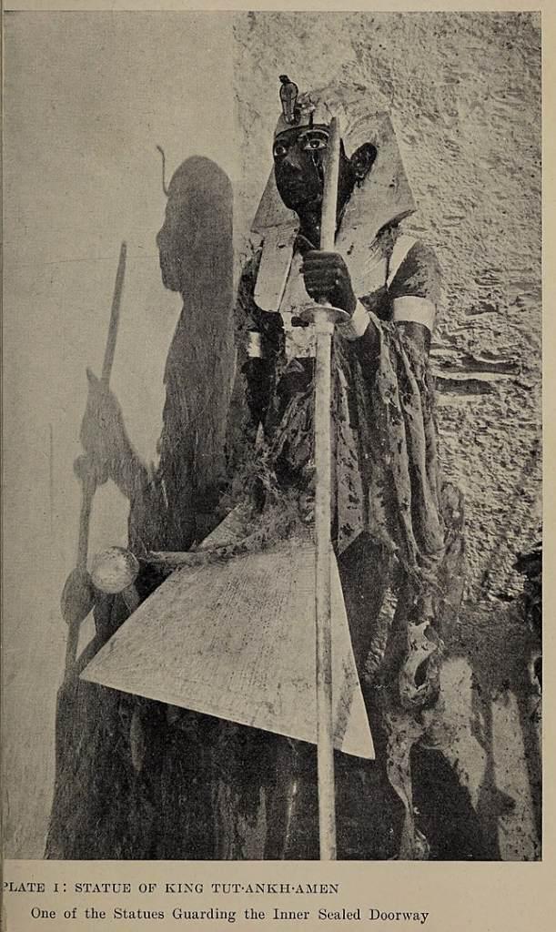 King Tut Tomb Illustration