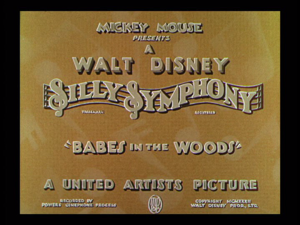 Babes in the Woods title card
