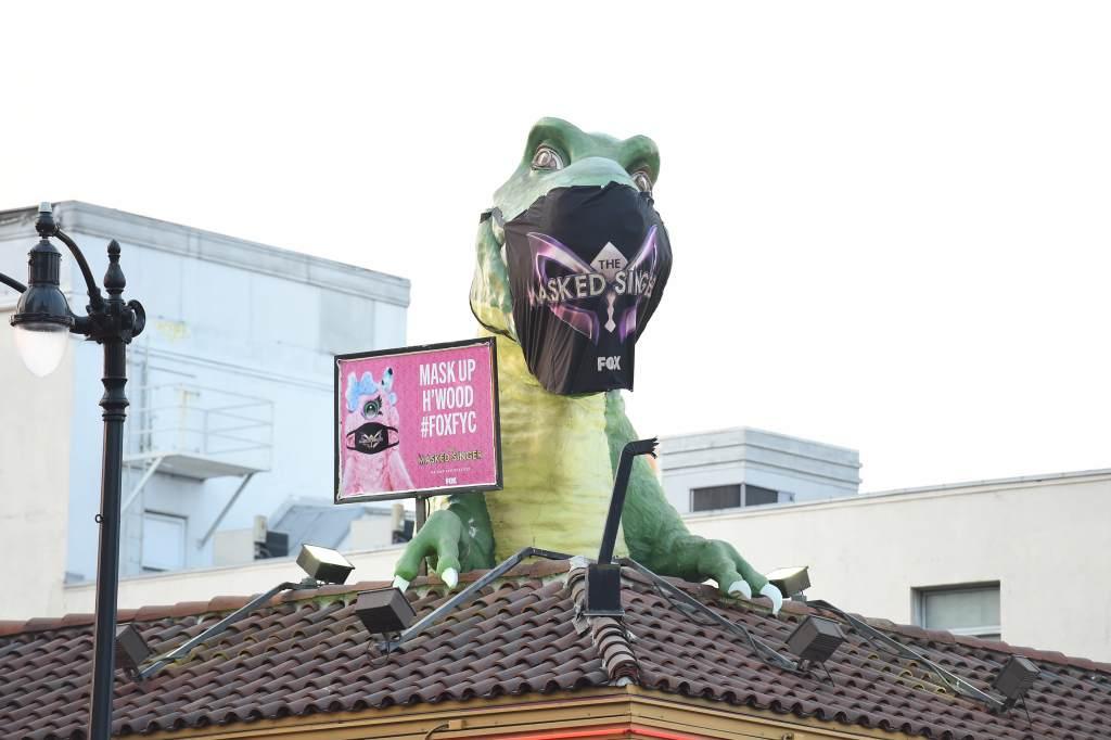 The Masked Singer Dinosaur