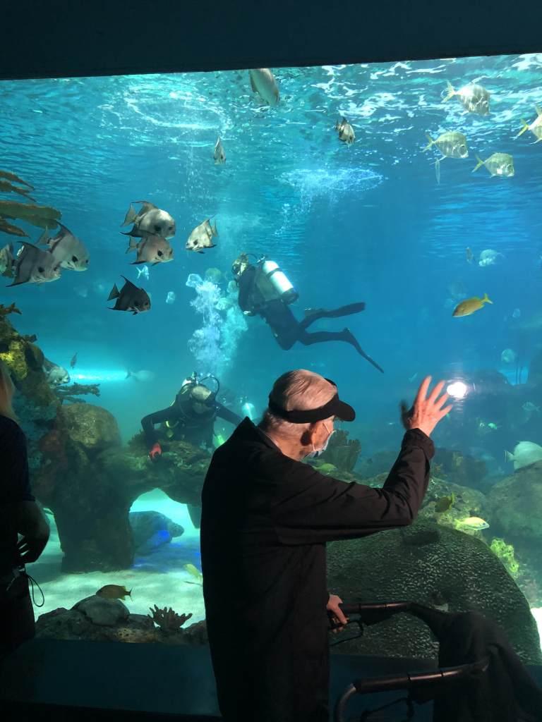 Marvin Gord at RIpley's Aquarium