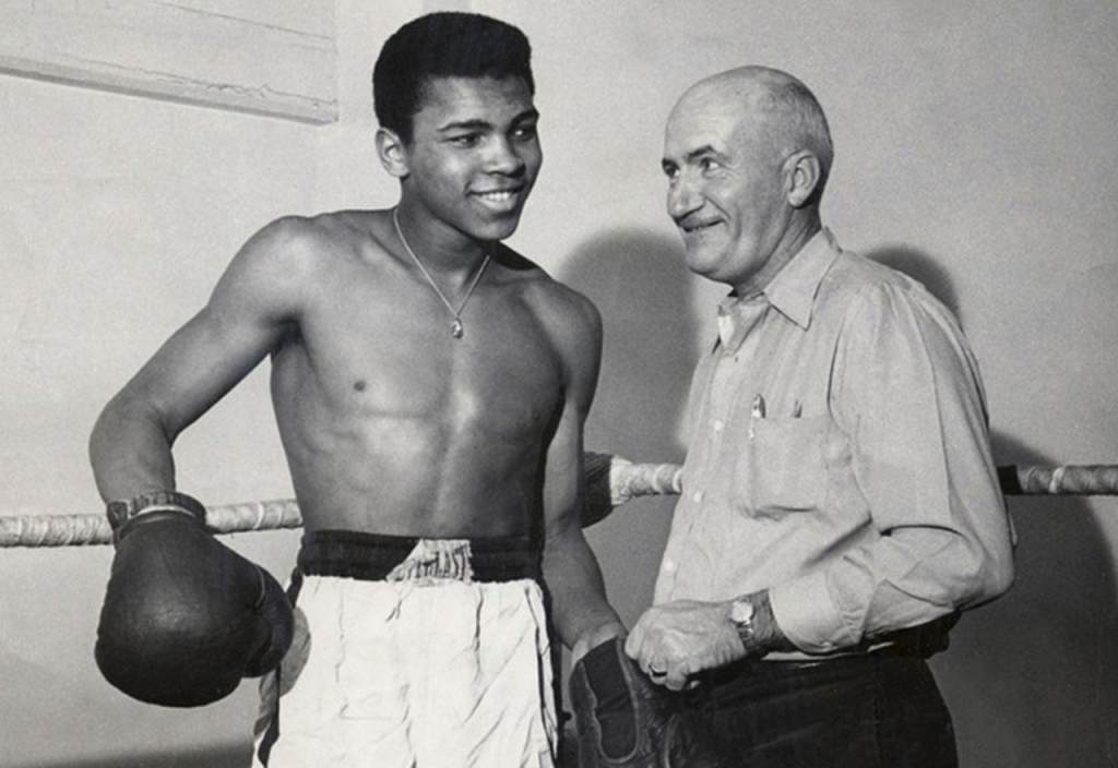 Cassius Clay and Joe E. Martin
