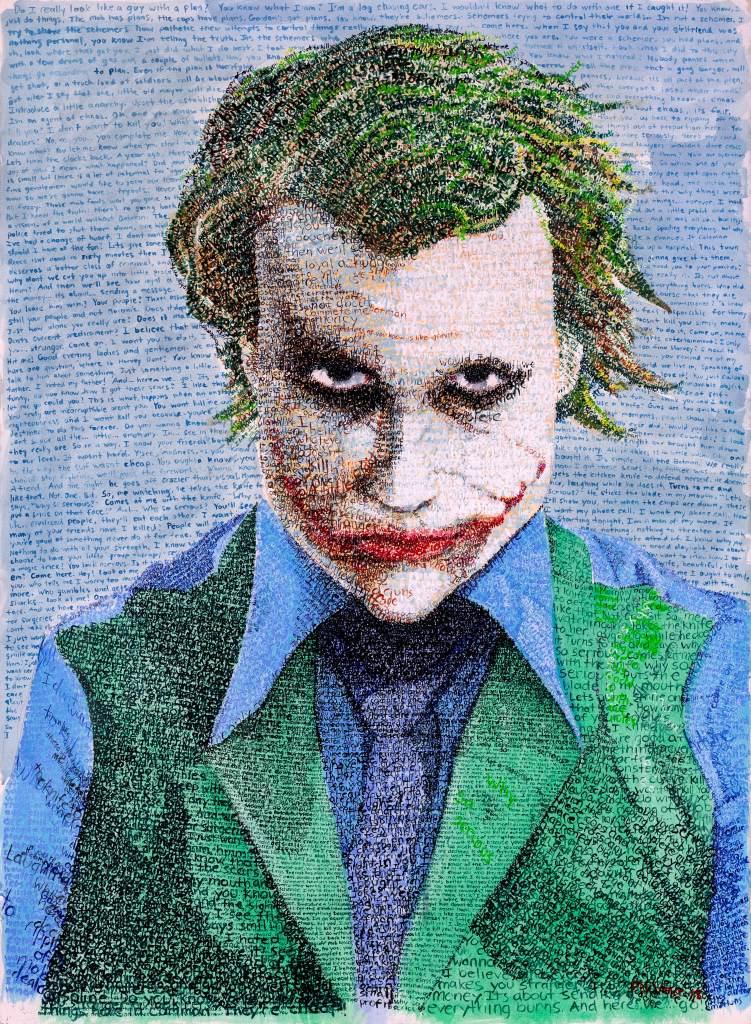 The Joker Word Art