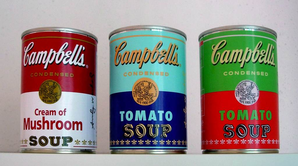 Campbell's Andy Warhol Special Edition