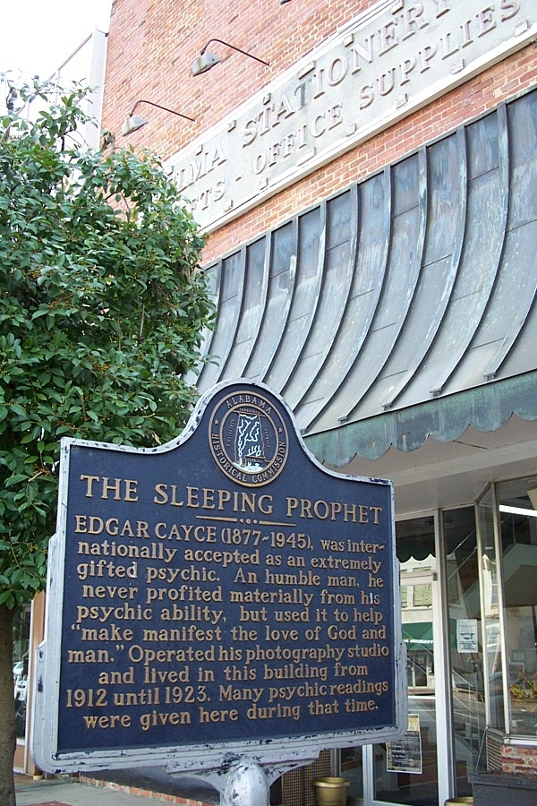 Edgar Cayce Tribute Signage