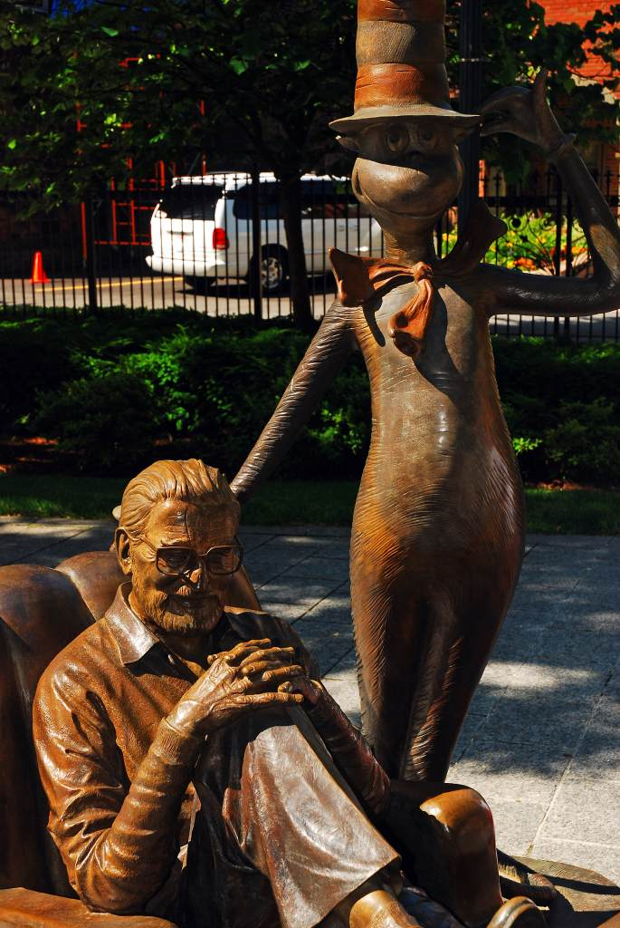 Theodor Seuss Geisel and the Cat in the Hat