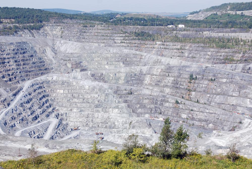Abestos Mine in Quebec, Canada