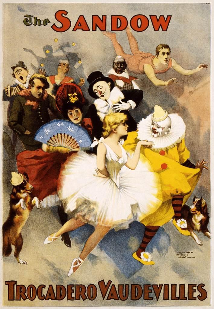 Sandow Vaudeville Act