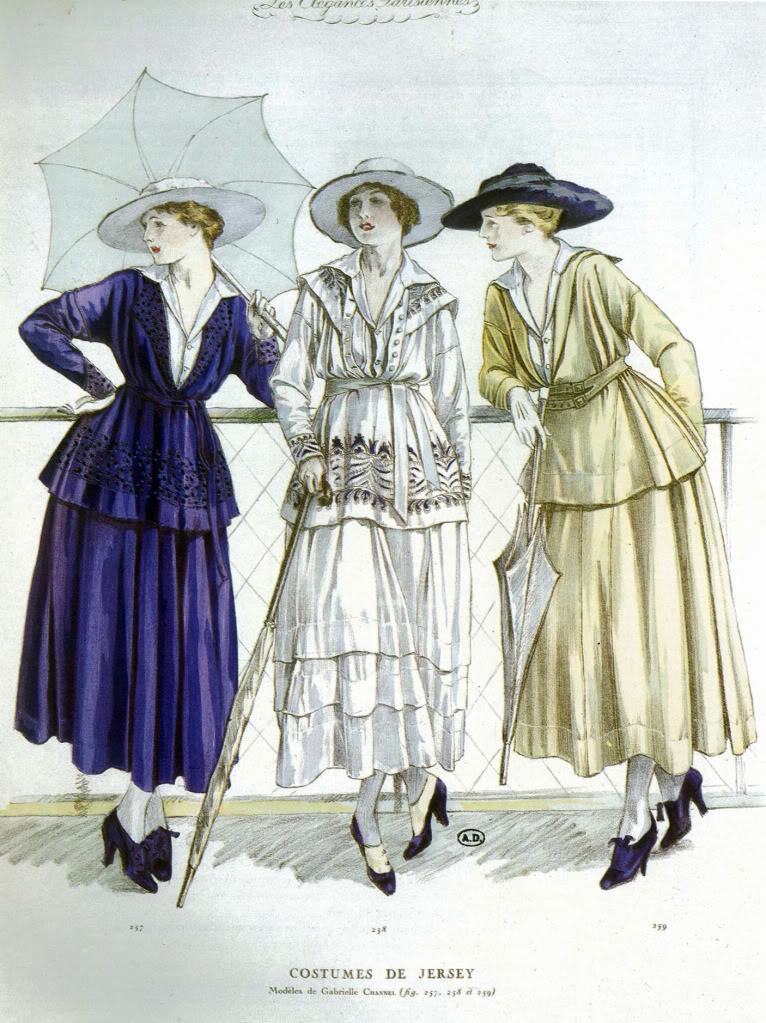 Chanel Jersey Wear 1917