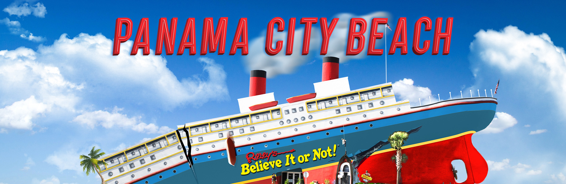 Ripley's Believe It or Not! Panama City Beach Hero Image