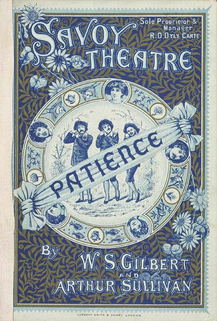 1881 Programme for Patience