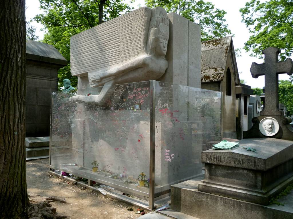 Oscar Wilde's Tomb in Père Lachaise Cemetery