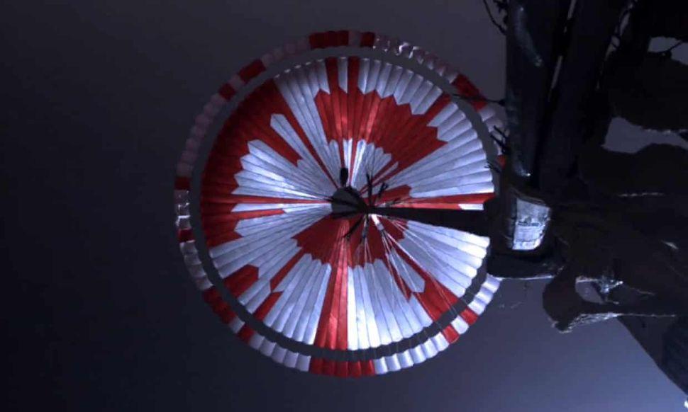 Mars Rover Perseverance Parachute