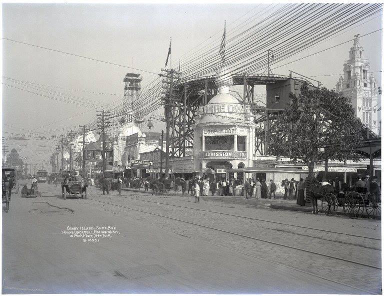 Coney Island Rollercoaster 1906