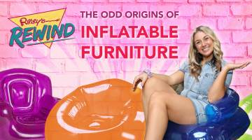 Odd Origins of inflatable Furniture