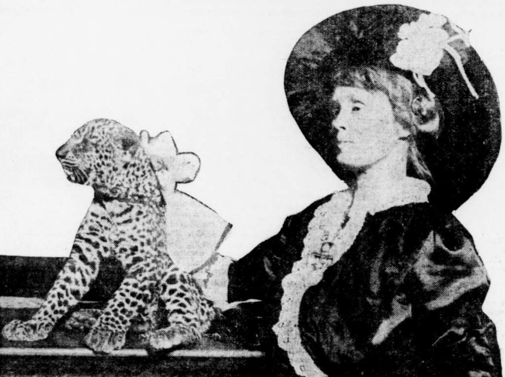 Mabel Stark and Tiger