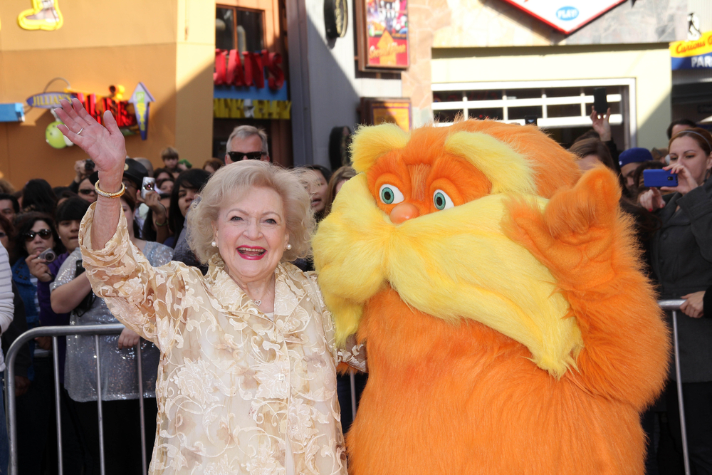 Betty White and The Lorax