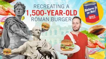 Believe It or Not! Bites Burger