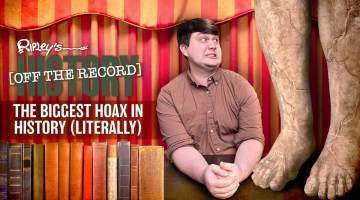 biggest hoax cardiff giant