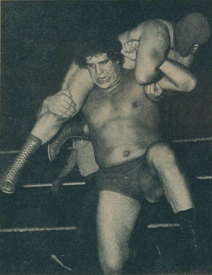 Andre The Giant Wrestling