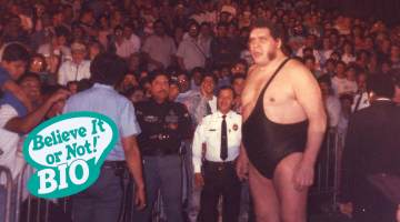 Andre The Giant BION Bio