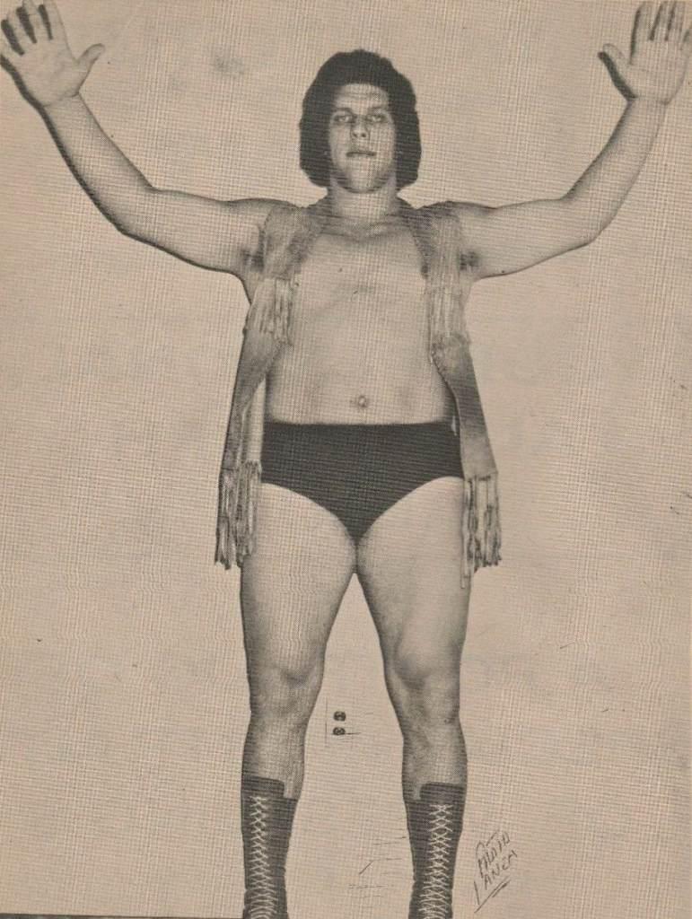 Jean Ferré Wrestling 1973
