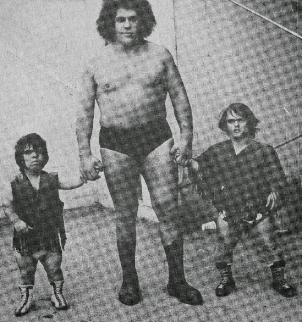 Jean Ferre, Tom Thumb, and Joe Russell 1973