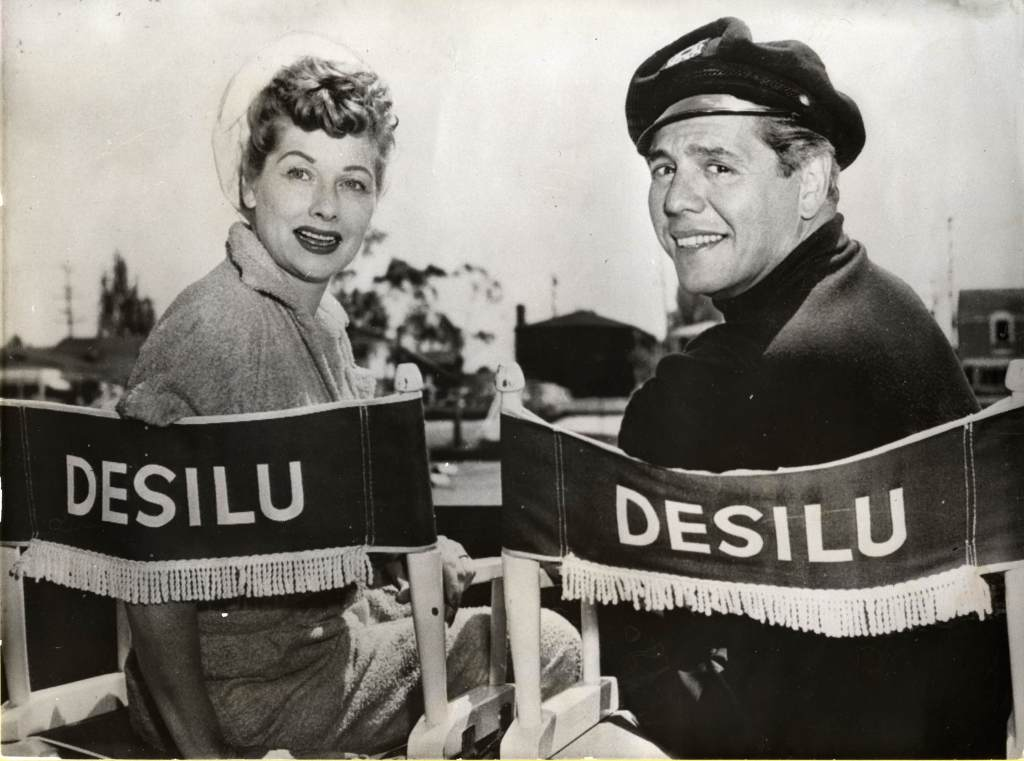 Lucille Ball and Desi Arnaz, founders of Desilu Productions