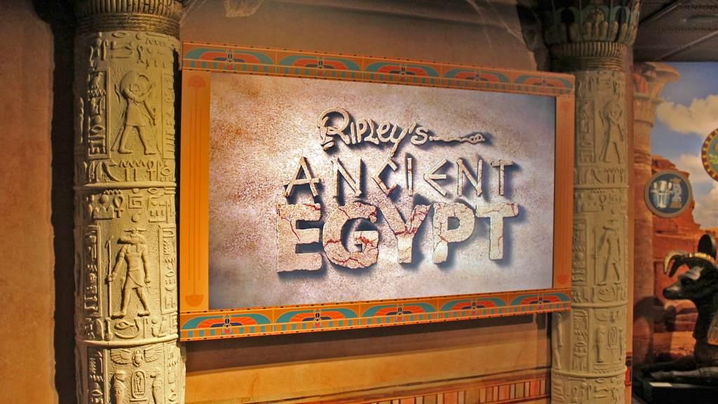 Ripley's Ancient Egypt Gallery Orlando