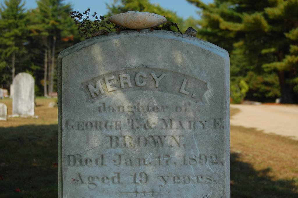 Mercy Brown's Grave