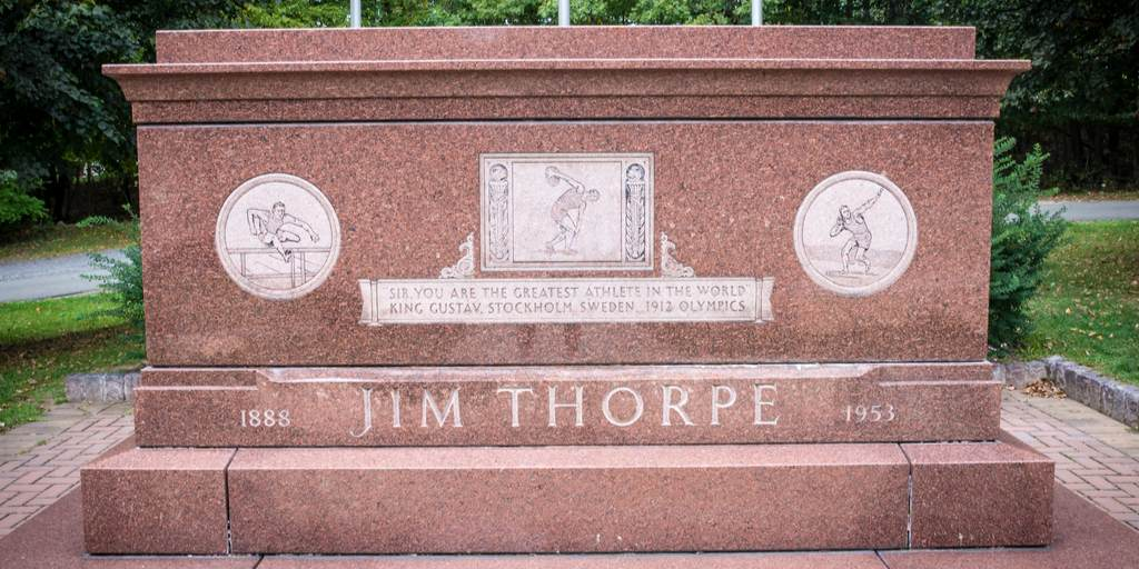 Jim Thorpe Gravesite