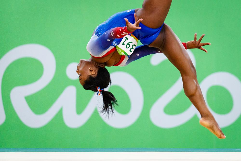 Simone Biles in Rio