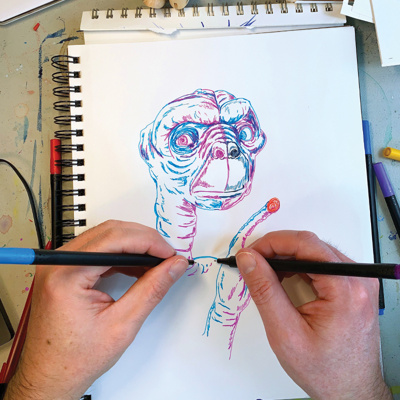 Out of the Box: Ambidextrous Art